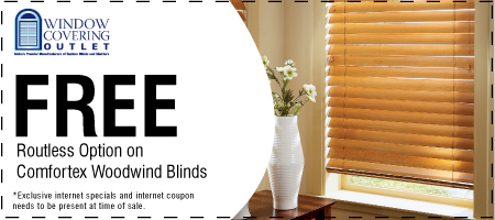 Specials Amp Coupons Window Covering Outlet