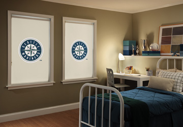 Boise Major League Baseball Roller Shades Window