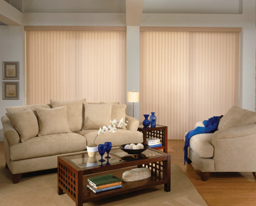 Boise Smooth Pvc Vertical Blinds Window Covering Outlet